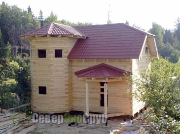 Дом по проекту БД-31 в Рузе