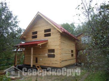 Дом из бруса 6×6 в Серпуховском районе