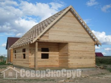 Дом из бруса 7×8. Волоколамск