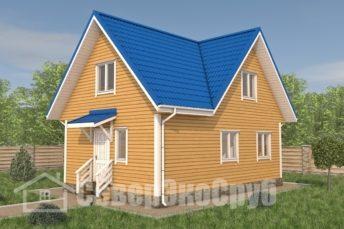 БД-108 Проект дома из бруса 6×9