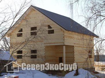 Строительство дома из обычного бруса д.Ивантиново, Серпуховский р-н