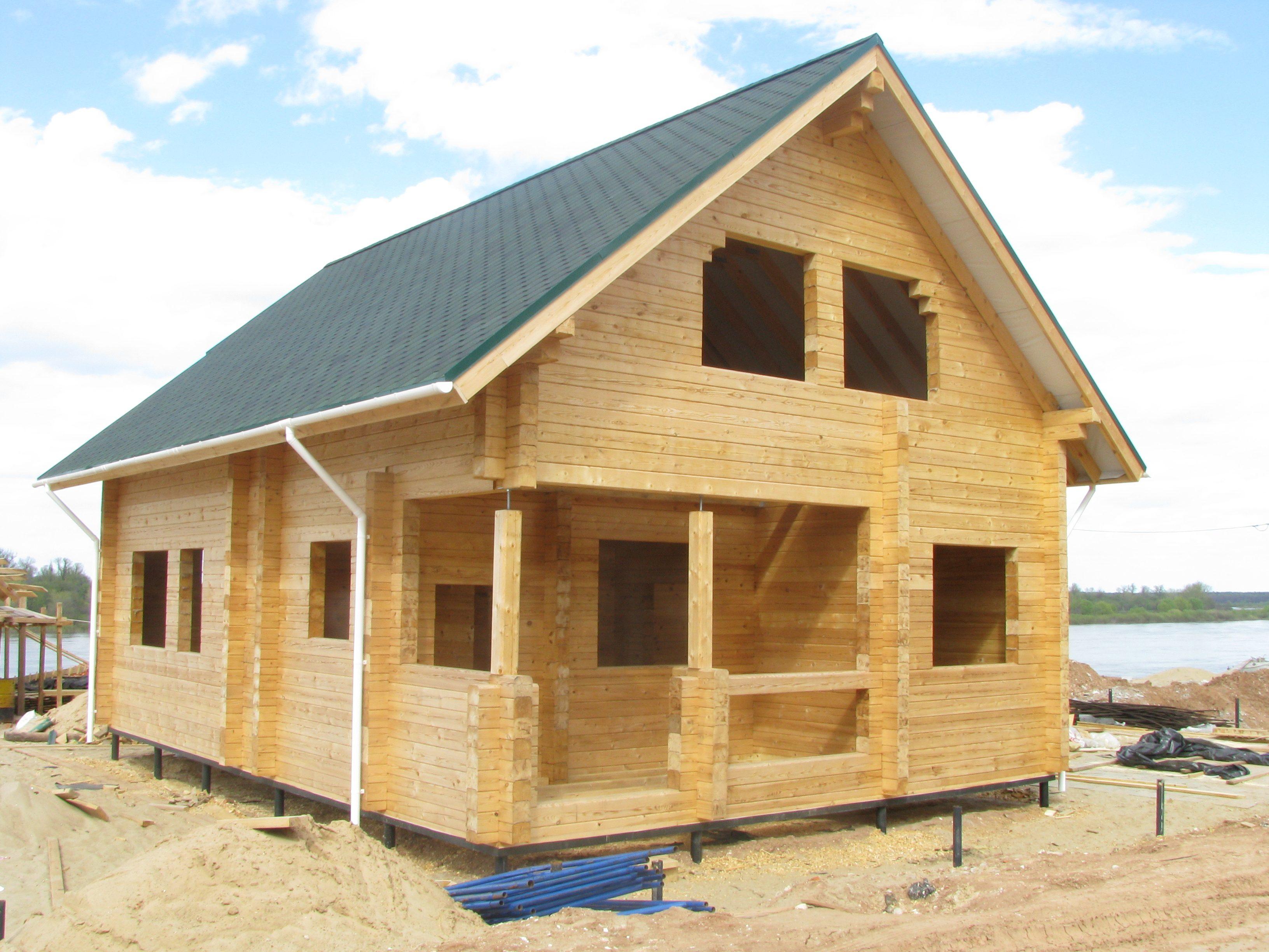 Инструкция как построить деревянный дом своими руками 48
