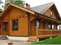 Проекты домов из профилированного бруса — надежно!