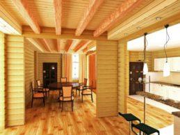 Дома из профилированного бруса: в один или два этажа?