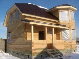 Строительство домов из бруса от «СеверЭкоСруб»