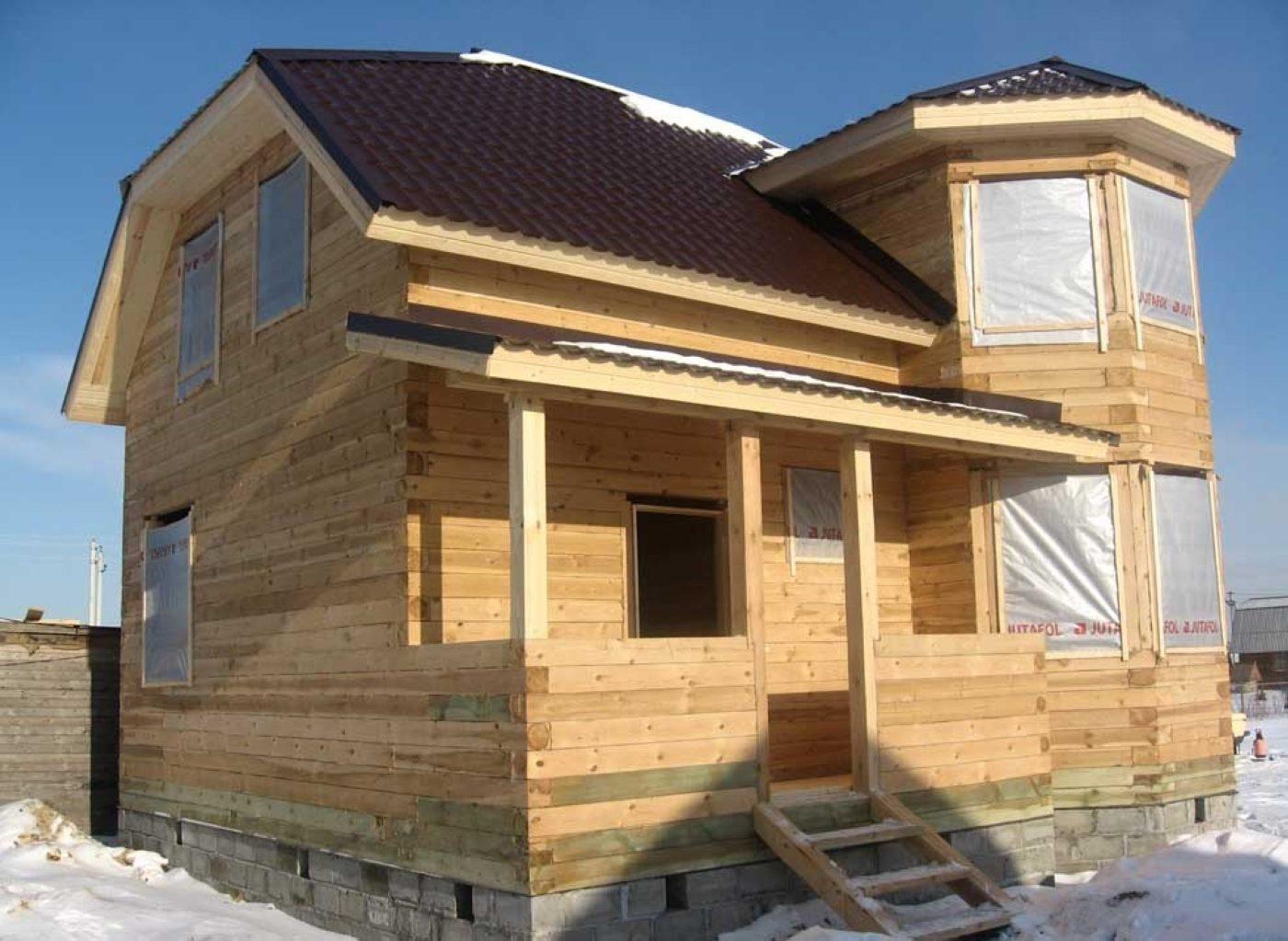 Строительство деревянного дома своими руками - Строим 20