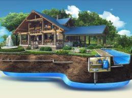 Пока происходит усадка дома из бруса, можно подумать о водоснабжении!
