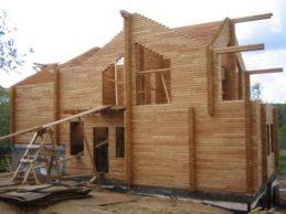 Строительство брусовых домов — защита дома.