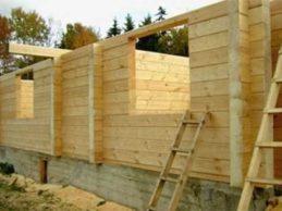 Дома под усадку недорого — строим жилье из бруса