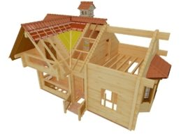 Проекты домов из профилированного бруса — этапы проектирования.