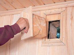 Вентиляция в домах из бруса под усадку