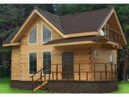 Как выбрать проект дома из профилированного бруса?