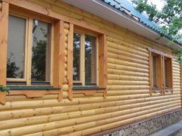 Строительство из бруса — отделка блок-хаусом
