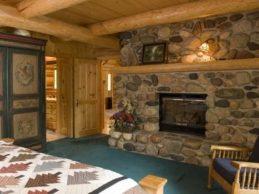 Строительство дачных домов из бруса: стиль отделки