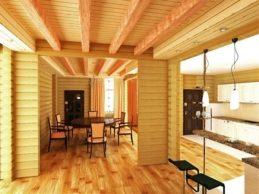 Из профилированного бруса получаются красивые дома!