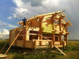 Проекты домов из профилированного бруса — именно!