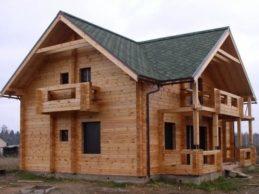 Старый добрый дом из профилированного бруса недорого