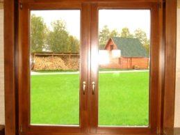 Деревянные стеклопакеты и их преимущества