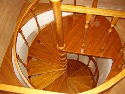 Винтовые лестницы — о них