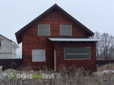Дом БД-35 в Чеховском районе, д. Дидяково