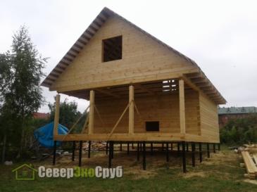 Дом 7х9 в д. Горбово Дмитровского района