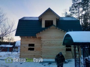 Дом по проекту БД-34 в Ногинске