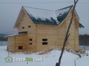 Дом БД-71 в Калужской области, пос. Шанский Завод