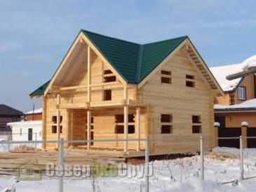 Дом по проекту БД-66 в Щелковский р-н СНТ Лосиный Парк-2