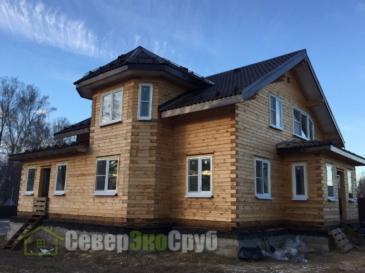 Два дома БД-29 в Тульской области д.Шеверняево