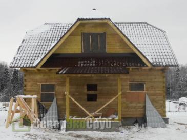 Дом по проекту БД-69 в Можайском р-не пос. Синичино
