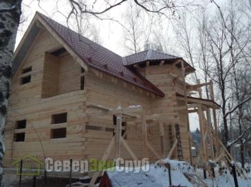 Дом по проекту БД-32 в Александровском р-не Владимирской обл.