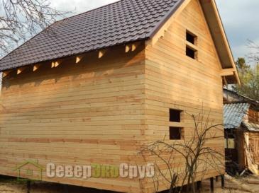 Дом по проекту БД-19 в Подольске МО