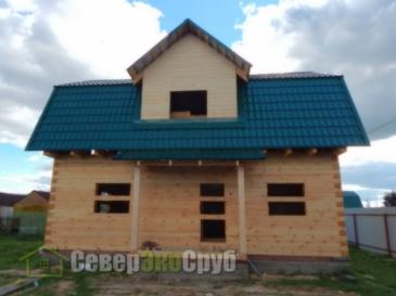Дом по проекту БД-34 г.Балабаново Калужской области