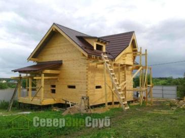 Дом по проекту БД-71 в Волоколамске