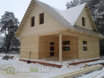 Дом по проекту БД-12. Шатура