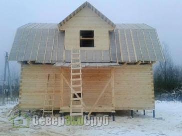 Дом по проекту БД-34 в Павловском Посаде МО