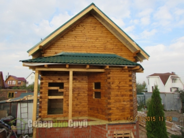Дом по проекту БД-30 в Ногинске
