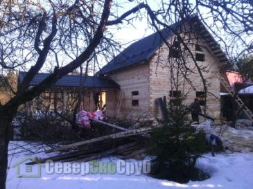 Дом по проекту БД-55 в Истре