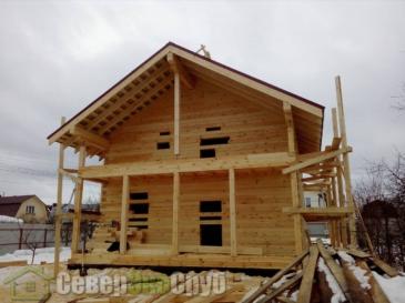 Дом 7,5 на 10,5 м в Одинцовском районе