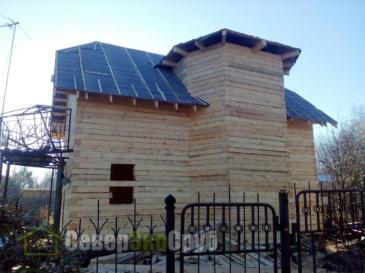Дом по проекту БД-14 в Ногинском р-не п. им. Воровского