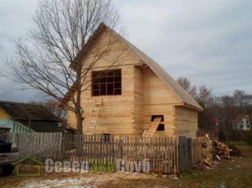 Дом в Борке Ярославской области
