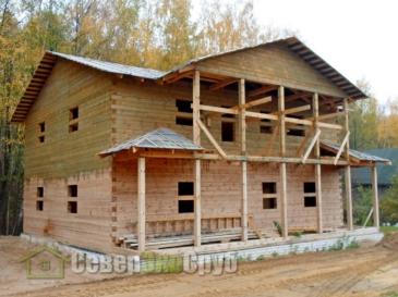 Дом по проекту БД-51 в д. Волосово Владимирской области