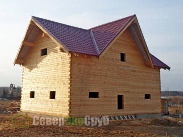 Дом по проекту БД-84 в Истринском районе