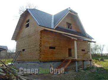 Дом по проекту БД-69 в г. Алексин Тульской области