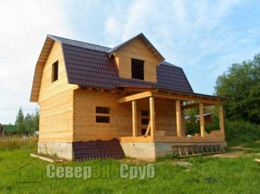 Дом по проекту БД-99 в д. Горбово Дмитровского района