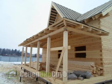 Дом по проекту БД-84 в Клинском р-не д. Соголево