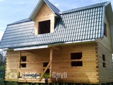 Дом по проекту БД-34 в г. Ликино-Дулево