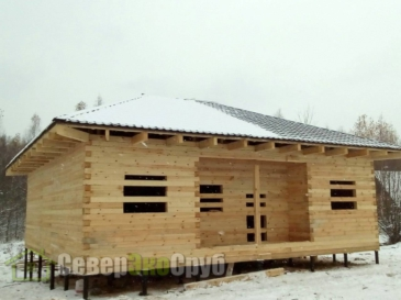 Дом по проекту БД-22 Ступинский район д. Бекетово