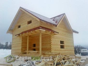 Дом по проекту БД-63 в Клинском р-не КП Покровские Ворота