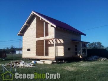 Дом по проекту БД-83 в Клинском районе д. Орлово